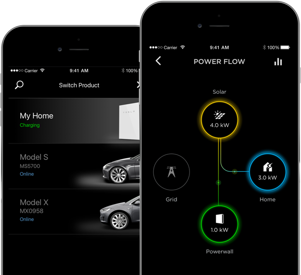 Use the tesla app on your smart phone